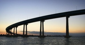 views of the coronado bridge are spectacular